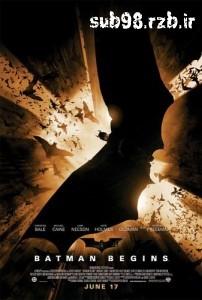 دانلود زیرنویس فارسی فیلم Batman Begins