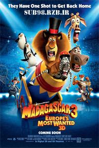 دانلود زیرنویس فارسی فیلم Madagascar Europes Most Wanted